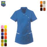 Hotel Waiter Shirt Quick Dry Unisex Salon Uniform