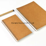 Artpaper Cover Offset Printing Spiral Diary and Notebook Wholesale