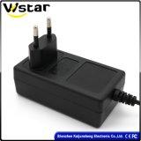 Ce RoHS Certified 18V2a 12V2.5A 24V1a 24V2a AC/DC Power Adapter with EU Us Au UK Plug