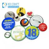 Cheap Custom Logo Metal Heart Shape Blank Bottle Opener Magnetic Tin Botton Maker Wholesale Plastic 37/58mm Cat LED Glitter Snap in Pin Button Badge