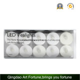 10pk Battery Operated LED Flickering Tealight Candles for Hotel