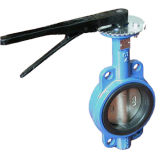 Wafer Type Butterfly Valve with Lever Operator
