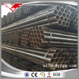 Ss400 3inch Non Secondary Black ERW Mild Steel Pipe