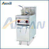 Df28 Commerical Stainless Steel Vertical Electric Deep Fryer with Cabinet