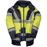 Reflective High Visibility Heavy Duty Water Resistant Outdoor Work Safety Work Wear