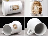 Handmade Germany Ceramic Beer Mugs with 3D Logo