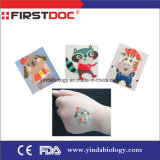 2017 New Cartoon Adhesive Bandage 38*38mm with Ce and FDA ISO13485
