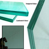 China Popular French Green Glass 6.76-12.38mm Clear and Colored Laminated Glass