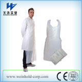 Disposable Plastic Waterproof Apron/Cheap Machine Made PE Apron