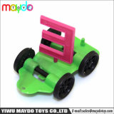 Small Plastic Toys DIY Mini Assembled Alphabet Car Toys for Kids Gifts