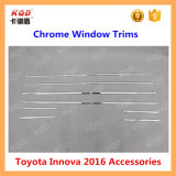 ABS Plastic Chrome Window Trims for Toyota Innova 2016
