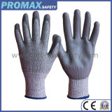 Cut Resistant PU Coat Anti Cut Protective Work Gloves