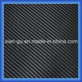 Imitation Carbon Fiber Twill Weaving PU Leather