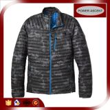 2015 Mens Grey Stand Collar Light Weight Down Jacket