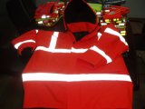 High Visibility Reflective Parkas with Quilting