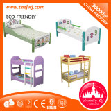 Various Solid Wood Bed Children School Bed with Cabinet