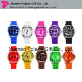 Fashion Unisex Quartz Wrist Watch Couple Watch with Silicone Band
