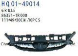Auto Spare Parts Grille for Hyundai Accent-Blue/Solaris/Chrysler-Dodge-Attitude OEM 86351-1r000