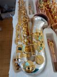 Professional Alto Sax /Silver Plated Saxophone, Made in China