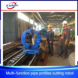 Rectangular Tube CNC Plasma Oxy-Fuel Bevel Pipe Cutting Machine