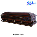 Mahogany Finishing Veneer MDF High Gloss Casket and Coffin