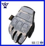 Тактическое воискао перста напольных спортов полное дует перчатки Camo (SYSG-1854)