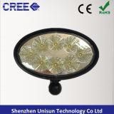 """luz oval del trabajo del CREE LED de 12V 6 """" 40W 8X5w"""