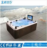 De Pool van de Outdoor Luxury Hydro SPA Massage van de Draaikolk van Monalisa (m-3342)