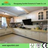 Porte UV de Module de cuisine de mélamine de PVC pour la cuisine