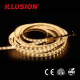 UL-Wechselstrom 220V KEIN Spannungsabfall, kein gelb färbendes SMD2835 flexibles LED Streifenlicht