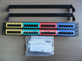 CAT6um patch panel FTP (WD6A-012)