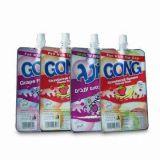 Pouchs en plastique avec l'impression de rotogravure jusqu'à 11 couleurs et 50 au volume 5000ml