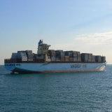 transporte do oceano do recipiente de 20ft e de 40ft de Shanghai a Kuwait