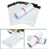 Annonce de empaquetage de sac de couleur blanche bon marché poly