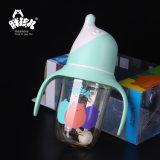Botella que introduce de PPSU boca ancha sin la maneta /BPA libremente 180ml
