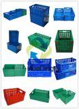 525x355x270mm plegables de almacenamiento de grado alimenticio utilizado cajas de plástico