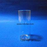 Tubo di vetro basso del Borosilicate con la parte inferiore piana
