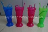 Partito Plastic Cup Straws con Multiple Colors
