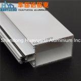 Muro cortina de aluminio de Recubrimiento en Polvo de aluminio perfiles de extrusión