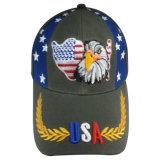La moda gorra de béisbol con bonito logotipo bordado Bbnw43