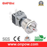 Onpow 19mm Push Button Switch (LAS1-BGQ, UL, CE, ccc, RoHS)