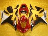 Обтекатели для Yamaha R1 02-03 красный и черный)