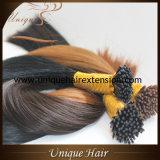 Extensões Pre-Ligadas do cabelo humano da queratina por atacado