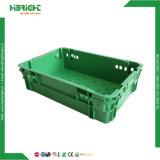 청과를 위한 플라스틱 겹쳐 쌓이는 크레이트 상자