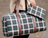 Фирменные Клетчатую Клетчатыми Duffel Bag багажа отдыхаюших женская сумка