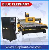 2060 ranurador grande del CNC de la carpintería de la talla del Atc, ranurador silencioso del CNC del eje de rotación de los sonidos con 8 herramientas