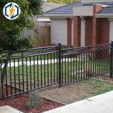 Frontière de sécurité de longeron en aluminium de piquet d'enduit de poudre et frontière de sécurité de jardin
