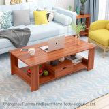 De houten Eenvoudige dubbel-Laag Teapoy van het Huis