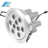 Luz de tecto LED (JM-S01-Downlighting-9*1W)