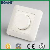 230V/50Hz commutateur contrôlé de régulateur d'éclairage de la molette rotatoire DEL